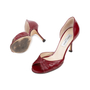 Authentic Second Hand Jimmy Choo Ruched D'Orsay Pumps (PSS-240-00241) - Thumbnail 1