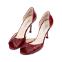 Authentic Second Hand Jimmy Choo Ruched D'Orsay Pumps (PSS-240-00241) - Thumbnail 3