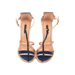 Multi Strap Embellished Sandals