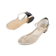 Chanel t strap sandals 2?1536122698