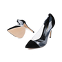 Authentic Pre Owned Gianvito Rossi Suede Plexi Pumps (PSS-240-00252) - Thumbnail 2