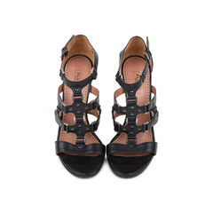 Buckle Cage Sandals