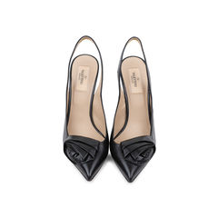 Rosette Sling Back Pumps