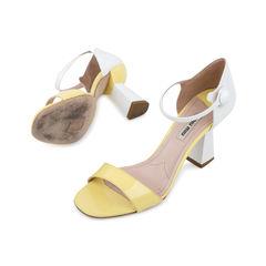 Miu miu two tone sandals 2?1536122940