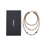 Authentic Pre Owned Chanel Amethyst Triple-Strand Chain Necklace (PSS-240-00249) - Thumbnail 2