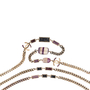 Authentic Pre Owned Chanel Amethyst Triple-Strand Chain Necklace (PSS-240-00249) - Thumbnail 3