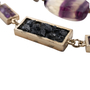 Authentic Pre Owned Chanel Amethyst Triple-Strand Chain Necklace (PSS-240-00249) - Thumbnail 4