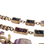Authentic Pre Owned Chanel Amethyst Triple-Strand Chain Necklace (PSS-240-00249) - Thumbnail 5