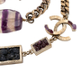 Authentic Pre Owned Chanel Amethyst Triple-Strand Chain Necklace (PSS-240-00249) - Thumbnail 8