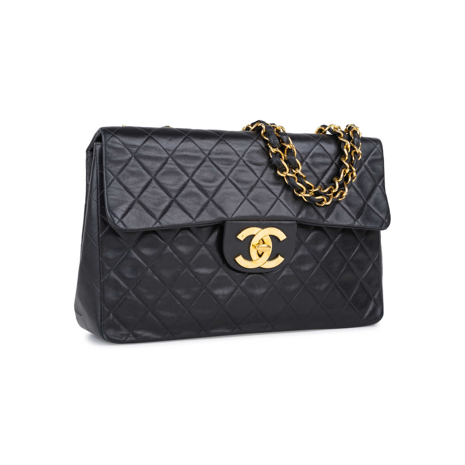 98ac979cbe68f3 ... Authentic Second Hand Chanel Classic Maxi Flap Bag (PSS-550-00004) ...