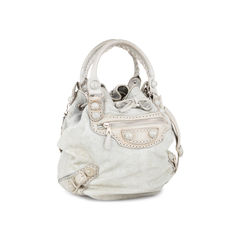 Balenciaga giant hardware pompon bag 2?1536291144