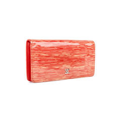 Chanel patent striped wallet 2?1536558274