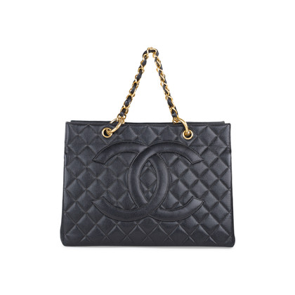 Authentic Second Hand Chanel Shopping Tote Bag (PSS-547-00020)
