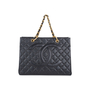 Authentic Second Hand Chanel Shopping Tote Bag (PSS-547-00020) - Thumbnail 0