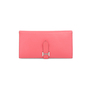 Authentic Pre Owned Hermès Rose Lipstick Bearn Wallet (PSS-197-00087) - Thumbnail 0