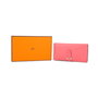 Authentic Pre Owned Hermès Rose Lipstick Bearn Wallet (PSS-197-00087) - Thumbnail 8