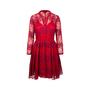 Authentic Second Hand Maje Rayela Two Tone Lace Dress (PSS-197-00091) - Thumbnail 0