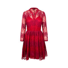 Rayela Two Tone Lace Dress