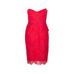 Marchesa notte strapless cocktail dress 2?1536728368