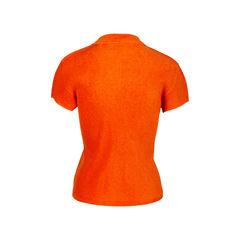 Pleats please orange polo shirt 2?1536824451