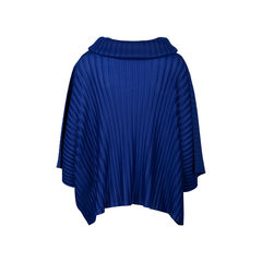 Pleats please high neck oversized blouse 2?1536824623