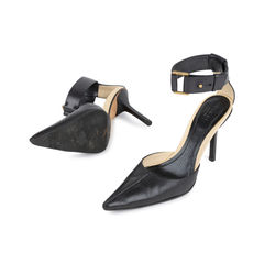 Gucci pointed toe ankle strap sandals 2?1536825114