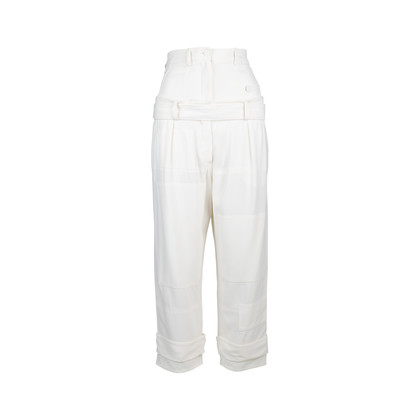 Authentic Pre Owned Alexander McQueen Double High Waist Pants (PSS-034-00022)