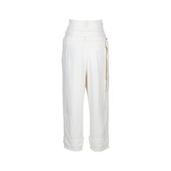 Alexander mcqueen double high waist pants 2?1536825218