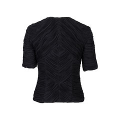 Burberry ruched crepe zip blouse 2?1536825263