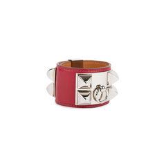 Hermes swift collier de chien bracelet red 2?1536825485