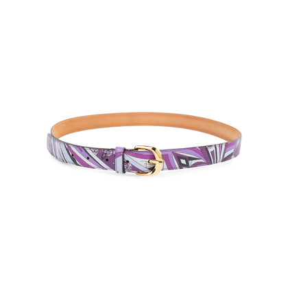 Authentic Pre Owned Emilio Pucci  Printed Waist Belt (PSS-548-00010)