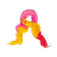 Colourblock Twisted Scarf