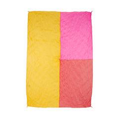 Pleats please colourblock twisted scarf 2?1536825697