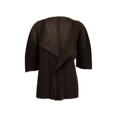 Three Quarter Short Sleeve Cardigan