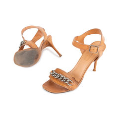 Celine chain link ankle strap sandals neutral 2?1536892234