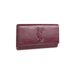Yves saint laurent patent clutch red 2?1536892393