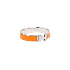 Hermes clic clac bracelet orange 2?1536893351