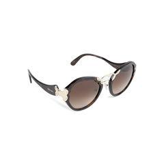 Prada tortoiseshell round sunglasses 2?1536893574