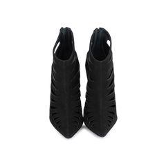 Lasercut Ankle Boots