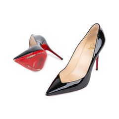 Christian louboutin completa patent pumps 2?1536894096