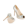 Authentic Second Hand Jimmy Choo Crown Peep Toe Pumps (PSS-552-00010) - Thumbnail 5