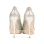 Authentic Second Hand Jimmy Choo Crown Peep Toe Pumps (PSS-552-00010) - Thumbnail 3