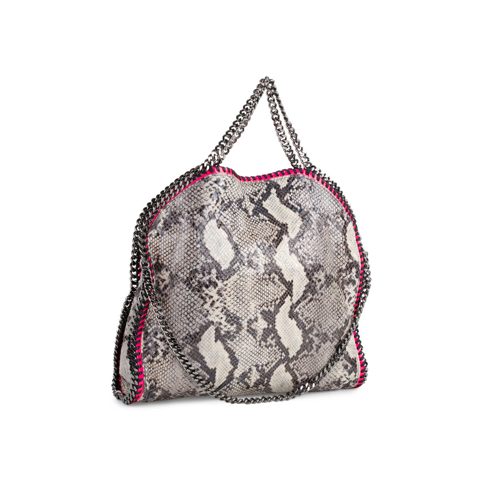 682de5ae9dc1 ... Authentic Second Hand Stella McCartney Falabella Faux Python Tote  (PSS-552-00020) ...