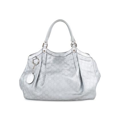 Authentic Second Hand Gucci Sukey Guccissima Tote Bag (PSS-552-00024)