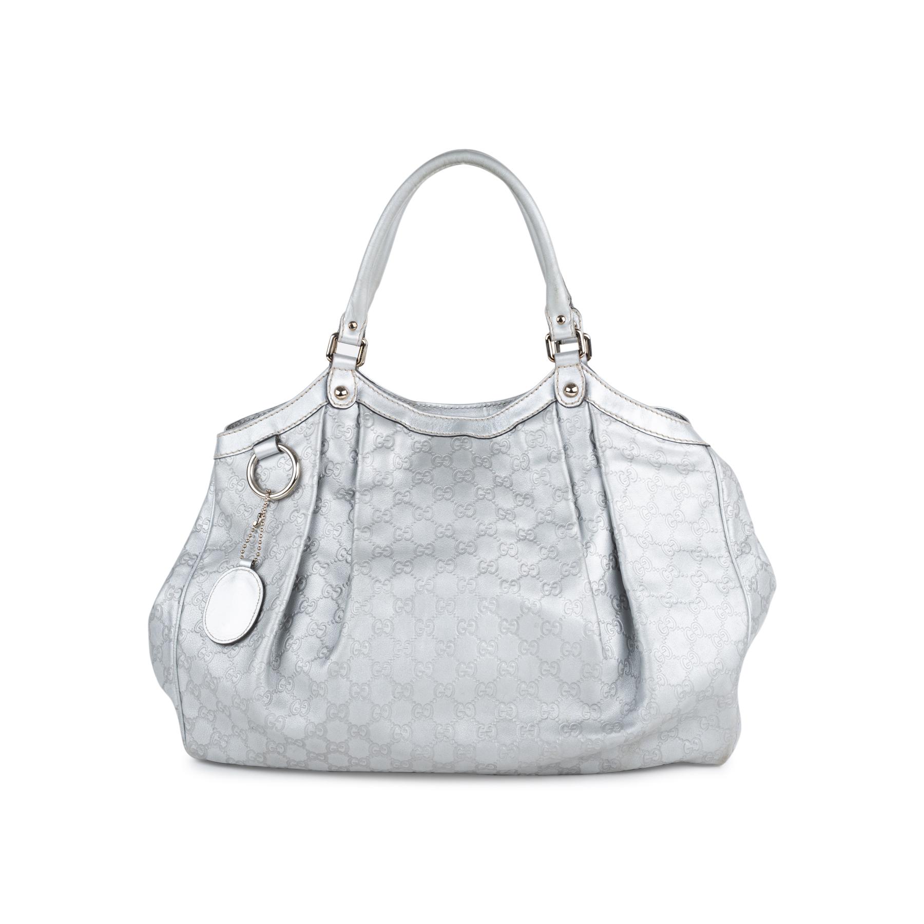 c605ec012e2b Authentic Second Hand Gucci Sukey Guccissima Tote Bag (PSS-552-00024) | THE  FIFTH COLLECTION