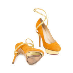 Charlotte olympia dolly braided strap pumps 2?1537156347