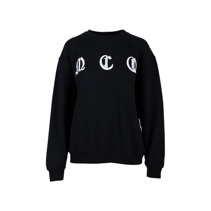 Authentic Second Hand McQ Alexander Mcqueen Embroidered Cotton Jersey Sweater (PSS-424-00099)