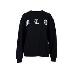 Embroidered Cotton Jersey Sweater