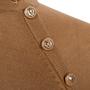 Authentic Second Hand Balmain Asymmetrical Button Sweater (PSS-424-00100) - Thumbnail 2