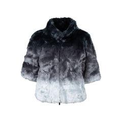 Faux Fur Blouson Jacket